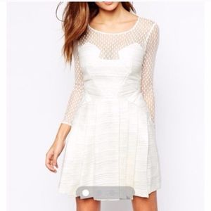 Mesh White/Silver Dress Bought From ASOS